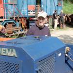 Feldbahn- und Industriemuseum: Fahrt in den Frühling