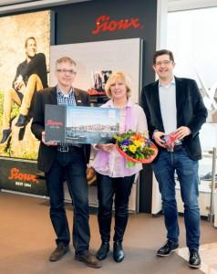 Preisübergabe Gisela Schmeckenbecher