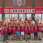 Erfolgreiches Girls-Camp Basketball in Sandhausen