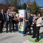 """Eröffnung der """"Stromtankstelle"""" in Baiertal – Raiffeisen-Privatbank eG"""