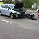 Verkehrsunfall am Abzweig der L612 zur K4178 Dielheim – Unterhof