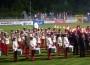 Großer Zapfenstreich beim Musik-Tattoo der Freiwilligen Feuerwehr Walldorf