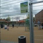 Bolzplatz Schillerschule nur für Schulbetrieb geöffnet