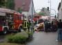 St. Leon-Rot: Auto prallt gegen Hauswand