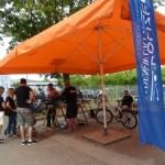 Fahrrad auf Nummer sicher: Kodieraktion der Polizei
