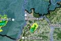WARNUNG vor Gewitter, Starkregen und Hagel