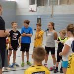 Ferienspaß bei den Basketballern in Walldorf