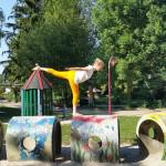 Yoga im Tierpark