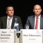 Vorstellung der Wieslocher OB-Kandidaten: Über 1.000 Zuschauer im Palatin