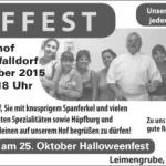 Am 03. Oktober ist wieder Hoffest bei Pichler