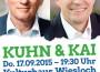 Öffentliche Abendveranstaltung Kai und Kuhn