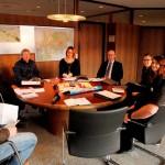 Pressegespräch – am runden Tisch beim Wieslocher OB – aktuell