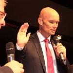 Stabwechsel im Wieslocher Rathaus – Neujahrsempfang der Stadt