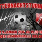 Mitternachts-Fussball-Turnier in der Leimbachtalhalle Dielheim