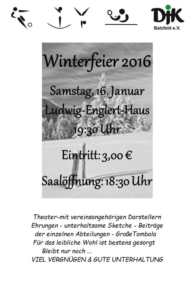 Winterfeier DJK 1