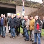 Lokaltermin mit politischen Größen der CDU und der Gemeinde Dielheim