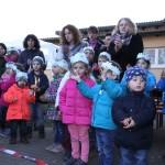 """Winterdorf im Kiga """"Villa Kunterbunt"""" erfreute viele Besucher"""