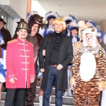 Rathauserstürmung in Rauenberg & Wiesloch – die Narren haben das Sagen