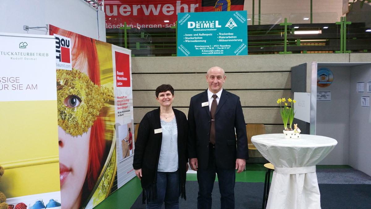 Stuckateurbetrieb Rudolf Deimel feiert 20-jähriges Jubiläum