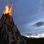 Tradition wird gepflegt – Osterfeuer seit mehr als einem Jahrzehnt in Balzfeld