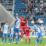 TSG 1899 Hoffenheim vs 1. FC Köln  1 : 1 (0 : 0) – kein gutes Spiel – Punkteteilung geht in Ordnung !