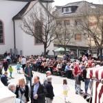 Wieslocher Frühlingsmarkt – ein highlight – auch hatte Petrus ein Einsehen