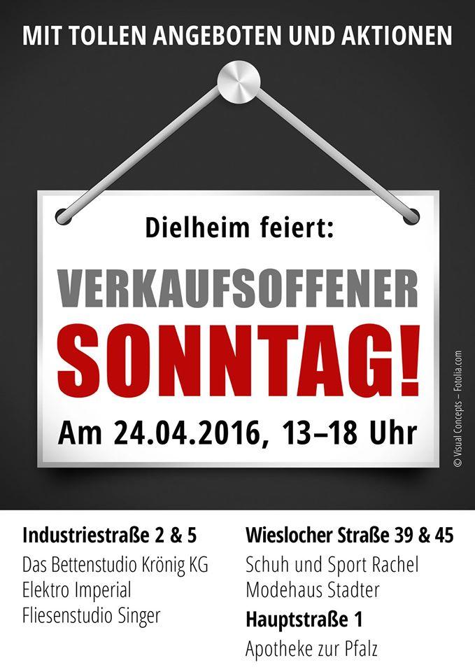 Verkaufsoffen Dielheim