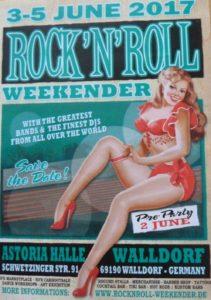 Plakat: Rock'n'Roll-Weekender