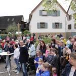 10 Jahre Maibaum-Aufstellung auf dem Balzfelder Dorfplatz