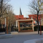 Klettern, weitspringen, balancieren im neuen Schulhof Schillerschule/Sambugaschule