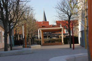 auf dem Schulhof (Foto: BBinz)