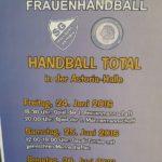 "Ab heute bis Sonntag; ""Handball Total"" bei der SG Walldorf Astoria"