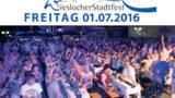 Wieslocher Stadtfest 2016: Eine Stadt bewegt – Genießen, Shoppen, Feiern