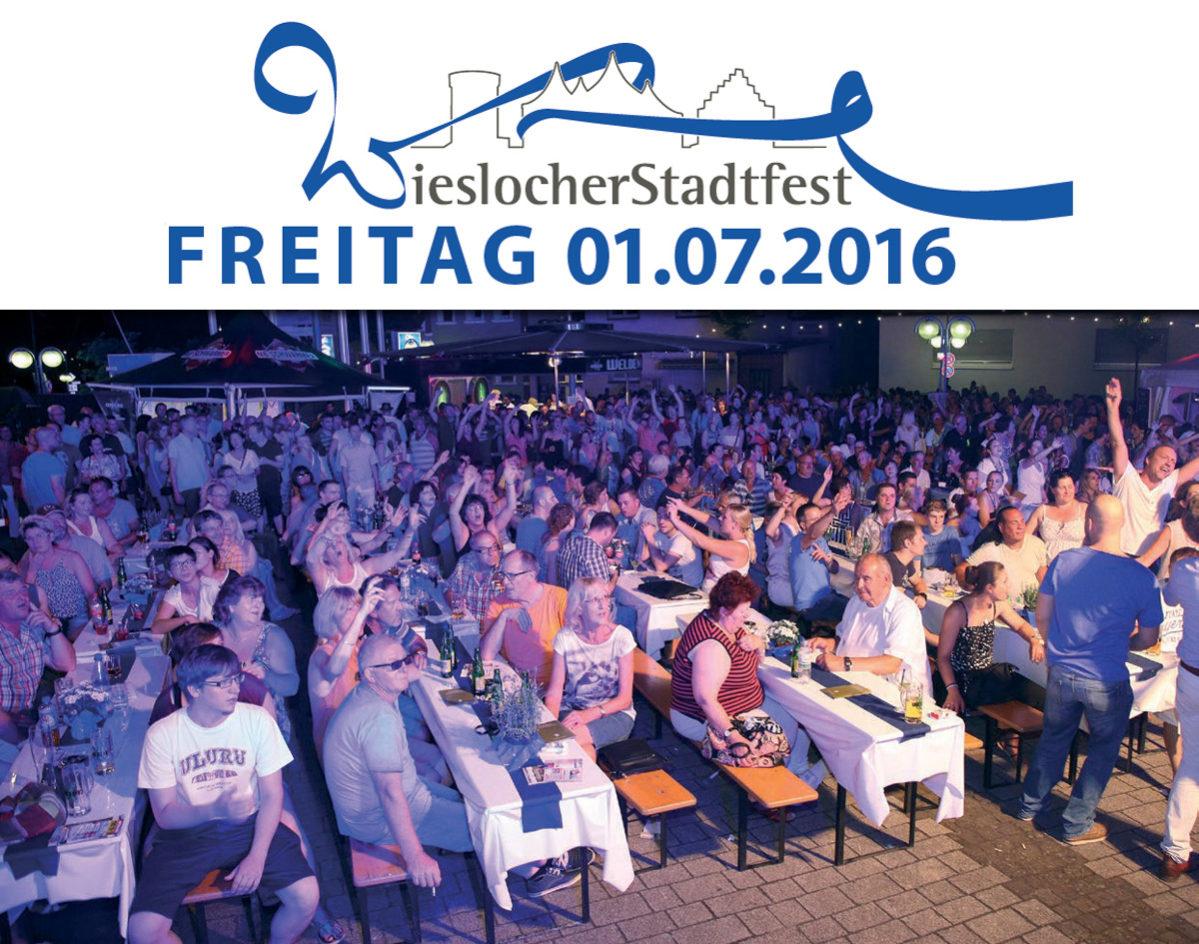 Wieslocher Stadtfest 2016