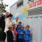 """Walldorf: Pilotprojekt """"Living Lab"""" – Auf dem Batteriespeicher geht die Sonne auf"""