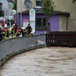 Feuerwehr ist auf Hochwasser perfekt eingestellt