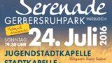 Serenade im Gerbersruhpark am 24. Juli ab 19:30 Uhr