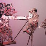 Gareng auf Brautschau einmalig als Schattenspiel in Wiesloch