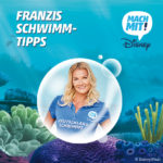Interview mit Franziska van Almsick anlässlich Disneys Schwimm-Spaß-Tour