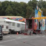 Das Winzerfest ist im Aufbau – nächstes Wochenende gehts schon los!