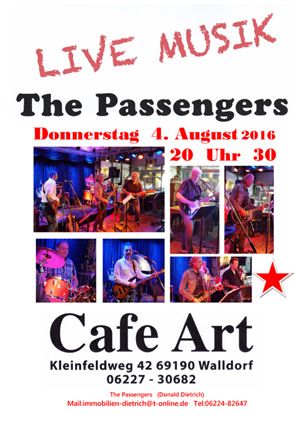 Passengers CafeArt 2016 Vatertag