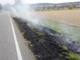 Flächenbrand an der B3
