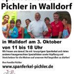 Heute: Hoffest bei Spanferkel-Pichler