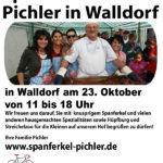 Am 23. Oktober: Hoffest bei Spanferkel-Pichler