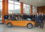 """Abschlussfeier des Schulprojektes """"Oldtimer-Restaurierung"""""""