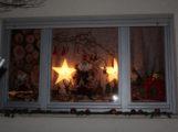 Adventsfenster in Schatthausen