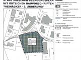 Änderung Bebauungsplan Weinäcker liegt zur Einsicht aus