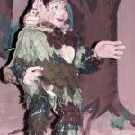 """Der """"Drache und der schreckliche Ritter"""" mit den Schwarzen Fäden im Marionetten Theater"""