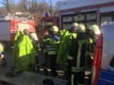 Gefahrgut-einsatz der Feuerwehren