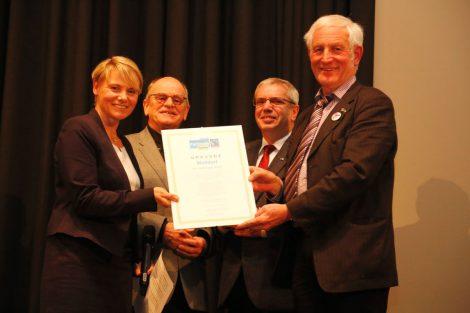 Walldorf ist Fairtrade-Stadt – Neujahrsempfang mit Verleihung der Fairtrade-Urkunde